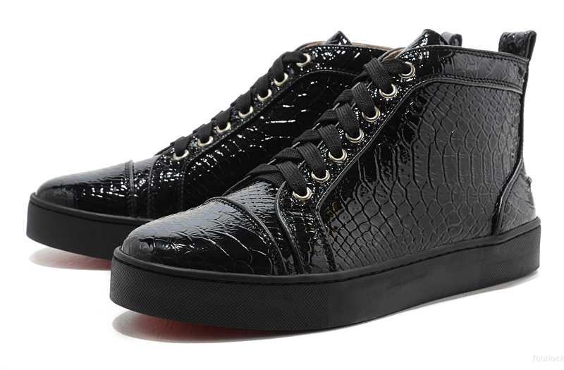 soldes sneakers louboutin homme pas cher
